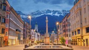 Blick auf Innsbrucker Berge