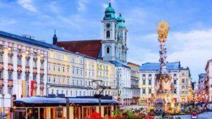 Blick auf Linzer Innenstadt