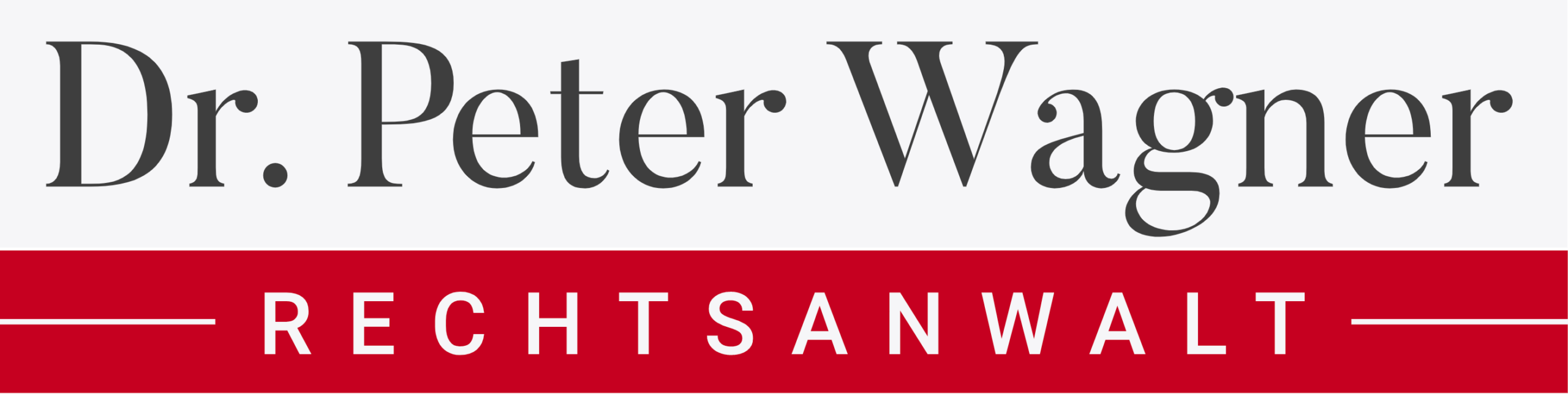 Rechtsanwalt Dr. Peter Wagner Logo